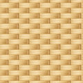 Wicker texture seamless background with beige Royalty Free Stock Photography