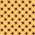 Wicker texture seamless background with beige Stock Photo