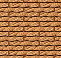 Wicker texture seamless background with beige Stock Images