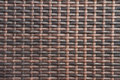 Wicker woven background handmade Royalty Free Stock Image