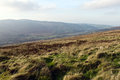 Wicklow mountains national park south of dublin in ireland Stock Images