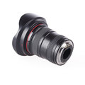 Wide angle zoom lens Royalty Free Stock Image