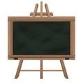 Wide Blackboard On Tripod Obje...