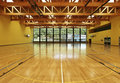 Wide gym, interior Royalty Free Stock Photography