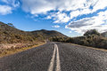The wide open road tasmania australia Stock Images