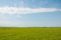 Wide open rural prairie landscape Stock Photos