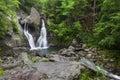 Wide View of Bash Bish Falls II Royalty Free Stock Photo