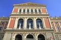 Wiener musikverein viennese music association a famous concert hall in vienna austria Stock Image