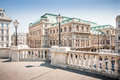 Wiener staatsoper vienna state opera in vienna austria beautiful view of Royalty Free Stock Photo