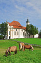 Wies Church,Bavaria Stock Photos