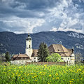 Wieskirche in Bavaria Germany Royalty Free Stock Photography