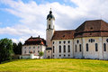 Wieskirche pilgrimage church of wies is one of the world heritage sites in germany it is located in the municipality of steingaden Stock Image