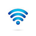 Wifi 3d Symbol  Wireless Conne...
