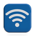 Wifi icon wireless technology sign d Royalty Free Stock Image