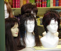 Wigs in Display Stock Photography