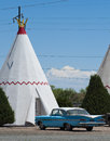 Wigwam Motel, Route 66 Royalty Free Stock Photo