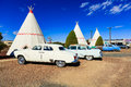 Wigwam Motel Tepees Royalty Free Stock Photo