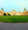 Wilanow palace Royalty Free Stock Images