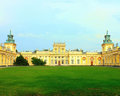 Wilanow palace Stock Photo