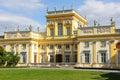 Wilanow Palace & Gardens. Warsaw. Poland.