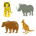Wild animals Stock Image