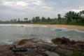 Wild beach on sri lanka coast Royalty Free Stock Photography