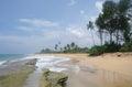 Wild beach on sri lanka coast Stock Photos