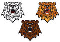 Wild bear tattoo Royalty Free Stock Photography