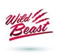 Wild Beast Royalty Free Stock Photo