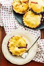 Wild berries pies Royalty Free Stock Photo