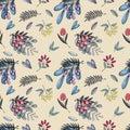 Wild berry pattern