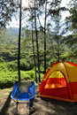 Wild camp Royalty Free Stock Photo
