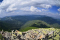 Wild carpathians mountain landscape in the Stock Photos