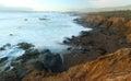 Wild Coastline Near Hearst Cas...