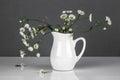 Wild Flowers In A Vase