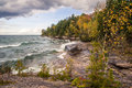 Wild Lake Superior Shore Royalty Free Stock Photo