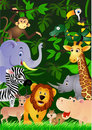 Wild life background Royalty Free Stock Images