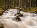 Wild mountain river in Slovakia
