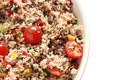 Wild rice salad Stock Image