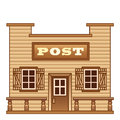 Wild west post office from Stock Photography