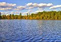 Wilderness Lake Royalty Free Stock Photo