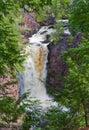 Wilderness Waterfall Royalty Free Stock Photo