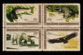 Wildlife conservation Postal Stamp Stock Photography