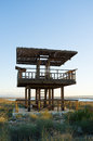 Wildlife observation tower Stock Photography