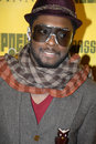 Will.I.Am on the red carpet. Royalty Free Stock Images