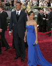 Will & Jada Smith 78th Academy Award Arrivals Kodak Theater Hollywood, CA March 5, 2006 Royalty Free Stock Photos