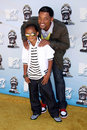 Will smith jaden smith and at the mtv movie awards gibson amphitheatre universal city ca Royalty Free Stock Photography
