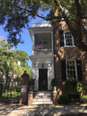 The William C. Bee House, Charleston, SC Royalty Free Stock Photo