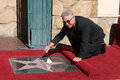 William petersen at the hollywood walk of fame star ceremony for in front of musso s franks resturant in los Stock Photography