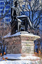 William seward statue nyc Arkivbilder